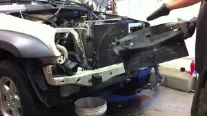 2005 jeep liberty radiator fan jeep liberty diesel timing belt replacement part 2 radiator and