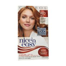 nice n easy hair color chart clairol nice n easy permanent hair color born red 8r 108 kit
