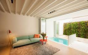 small indoor pools small indoor pool nested in a tiny minimalist belgium house founterior