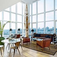 Be Inspired By Vintagechic New York Penthouse Penthouses - Modern and vintage interior design