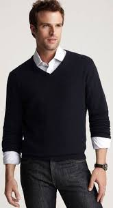 italian merino wool v neck sweater black s fashion bug