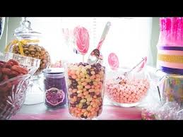 Candy For A Candy Buffet by Creating A Candy Buffet For A Baby Shower Youtube