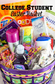 gift baskets for college students college student easter basket recipe box easter baskets and college
