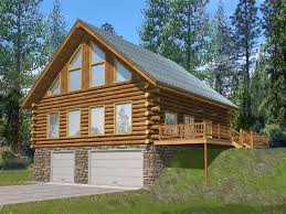 cabin plans with garage 19 best garage plans for a sloping lot images on