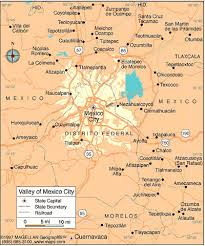 map of mexico cities mexico city map