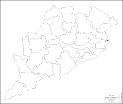 Blank Map Of India by Orissa Free Map Free Blank Map Free Outline Map Free Base Map