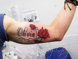 28 rose tattoos with names best 25 rose tattoo with name