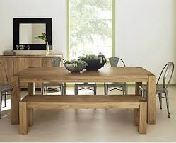 Modern Dining Bench With Back 10 Easy Pieces Modern Dining Tables And Benches Remodelista Home