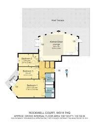 3 bed flat for sale in rockwell court the gateway watford wd18
