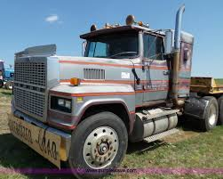 ford truck 1982 1982 ford ltl 9000 semi truck item j4880 sold july 14 c
