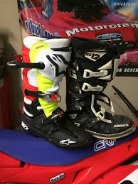 gaerne sg12 motocross boots alpinestar tech 10s moto related motocross forums message