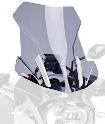 puig 6486h light smoke touring screen by puig amazon co uk car