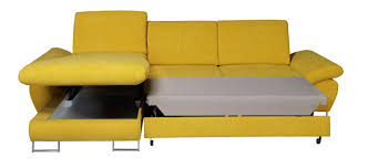 Yellow Sleeper Sofa Yellow Sectional Sofa Mustard Leather Contemporary Butter Fabric