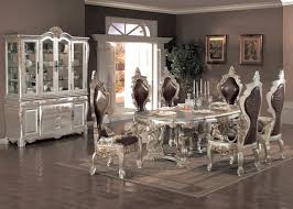 dining room sets rustic dining room rustic table from metal used style room black glass