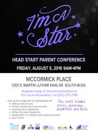 Mccormick Place Map I U0027m A Star Head Start Parent Conference Tickets Fri Aug 5 2016