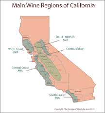 Map Of California And Oregon by California Wine Map Pdf California Map