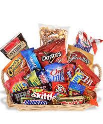 junk food gift baskets junk food basket