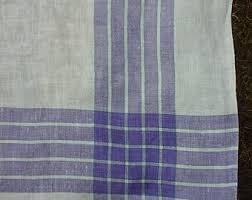 plaid tablecloth etsy