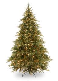 8ft pre lit weeping spruce feel real artificial tree