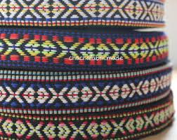 woven ribbon woven straps etsy