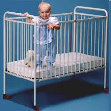metal foldable crib compact size portable cribs