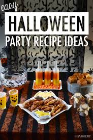 easy halloween party recipe ideas camp makery