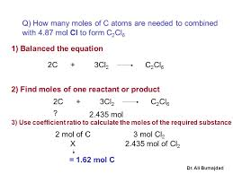 How To Calculate The Needed Mass Relationships In Chemical Reactions Ppt Download