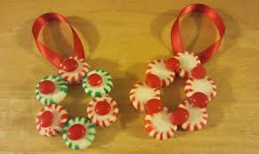 christmas craft candy ornament wreath decorations diy youtube