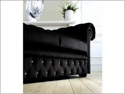 Are Chesterfield Sofas Comfortable Black Velvet Chesterfield Sofa Comfortable Black Crushed Velvet