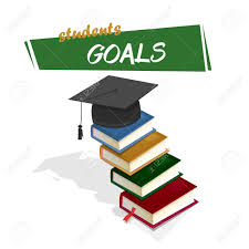 graduation books students goals books forming a ladder to reach the college
