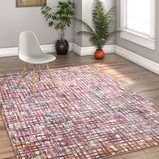 Plaid Area Rug Well Woven Modern Plaid Area Rug 7 10 X 10 6 Free Shipping