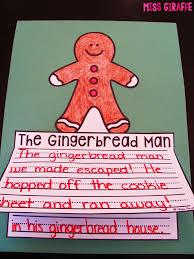 gingerbread man writing paper miss giraffe s class december writing crafts gingerbread man writing craft perfect to read with gingerbread man books in december