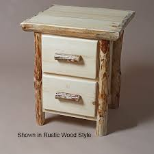 twist of nature small pine 1 dr nightstand