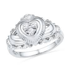 claddagh engagement ring claddagh rings rings zales