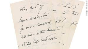 jfk u0027s love letter to his mistress is up for sale cnn