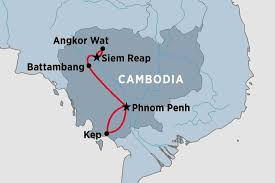 Blank World Map With Equator And Tropics by Cambodia Tours Travel U0026 Trips Peregrine Adventures Nz