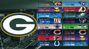 green bay packers 2016 schedule 24x36 inch poster man cave wall
