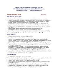 Sample Australian Resume Format Resume Sample For Canada Resume For Your Job Application