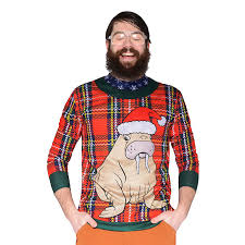 celebrate the season with big and tall ugly holiday sweaters chubstr