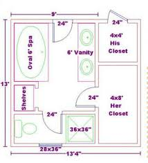 Bathroom Floor Plans Bathroom Plansfree X Master Bath Master - Master bathroom design plans