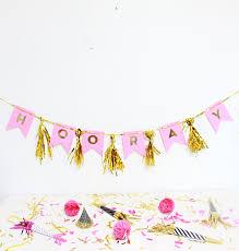 party banner easy festive tasseled letter party banner tutorial