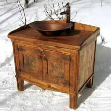 Rustic Bathroom Fixtures - rustic bathroom vanities homemade rustic bathroom vanity tsc