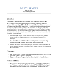 Systems Analyst Resume Sample by Gis Resume Sample Resume Cv Cover Letter Sample Resume For Gis