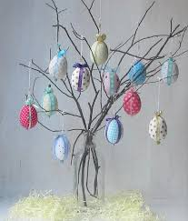 easter egg tree decorations 12 decorated easter eggs make your own easter egg tree gift
