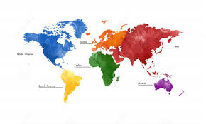The World Map With Continents And Oceans by 5 Oceans Of The World Rankings Sizes Unknown Facts