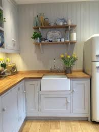 cottage kitchen design an inspirational image from farrow and ball walls and cabinetry