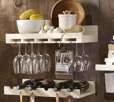 Pottery Barn Wine Racks Pottery Barn Holman Entertaining Shelves Need This For My Kitchen