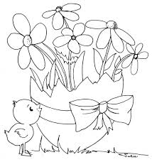 cute easter coloring pages coloringstar