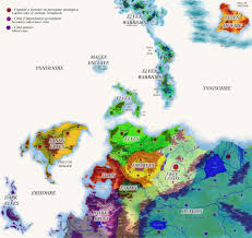 Fantasy World Maps by Fantasy World Map Political By Morgancygnus On Deviantart