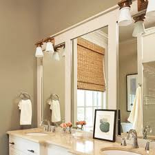 diy frame your bathroom mirror and our bathroom u2013 ricedesigns